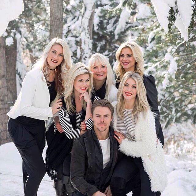 Julianne Hough family
