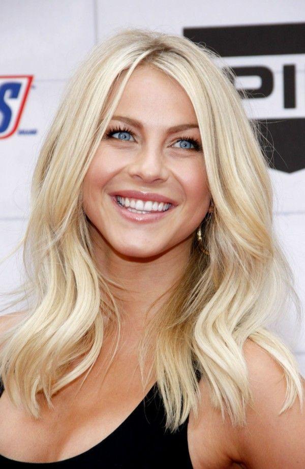 julianne hough blonde hair