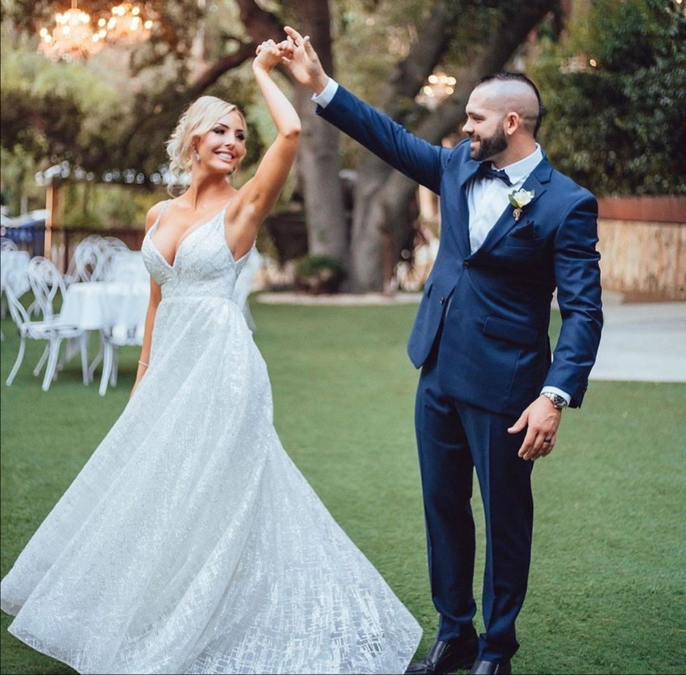peyton royce wedding