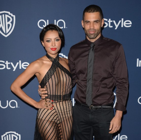 Kat Graham and her former fiance, Cotrell Guidry.