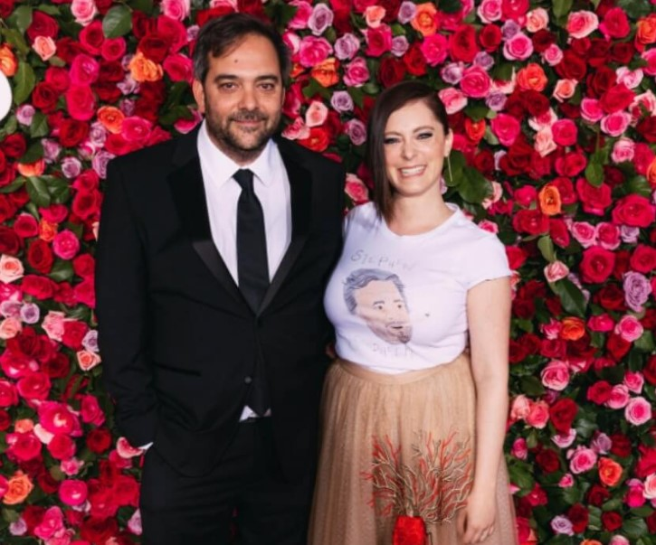 Adam Schlesinger was married to Katherine Michel from 1999 to 2013.