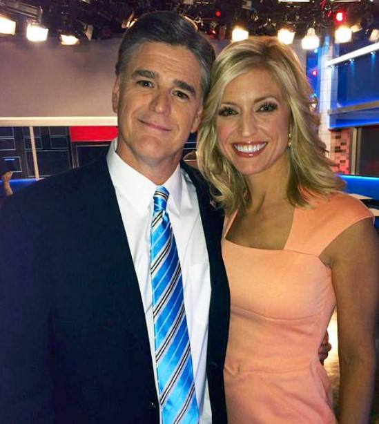 Ainsley Earhardt and her reportedy boyfriend, Sean Hannity.