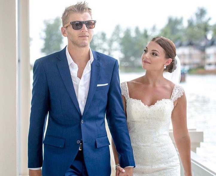 Dan Hooker and his wife Isabella.