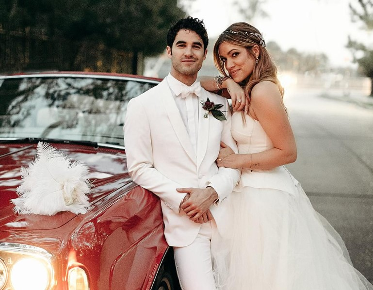 Darren Criss married Mia Swier on 16 February 2019.