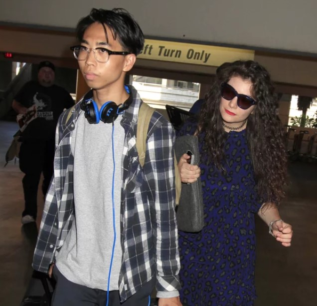 Lorde and her former boyfriend, James Lowe.