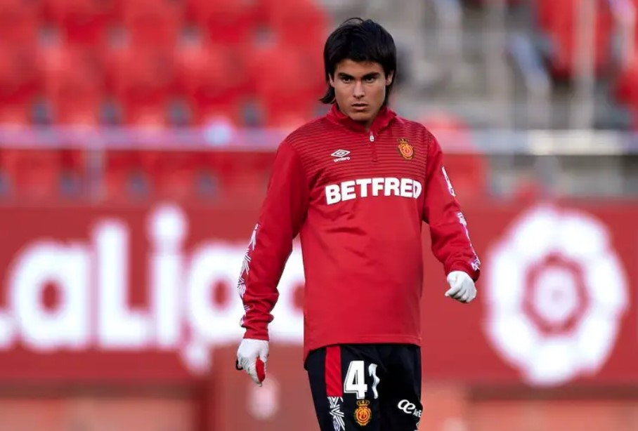 Luka Romero was only 10 when he signed 8-year deal with Mallorca.