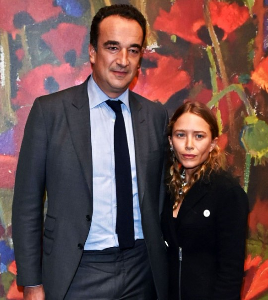 Mary-Kate Olsen and her former husband Olivier Sarkozy.