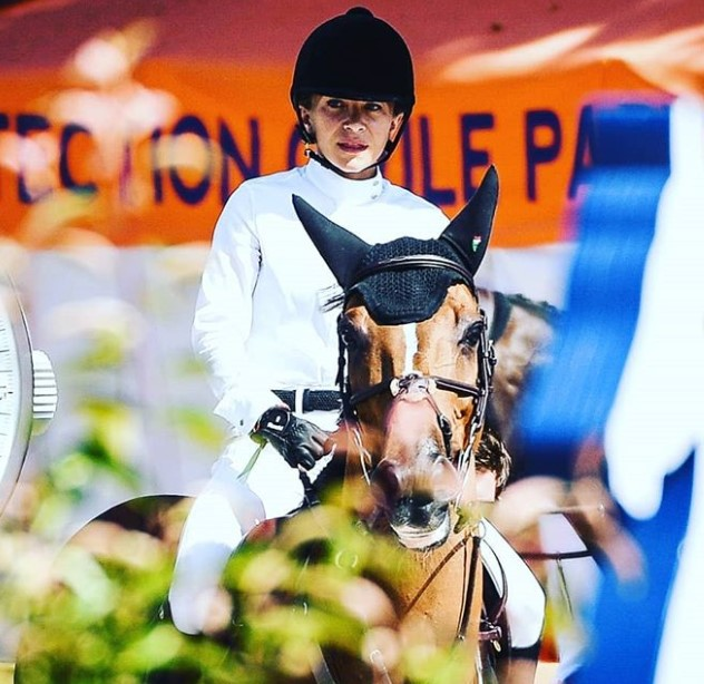 Mary-Kate Olsen is also a competitive equestrian.
