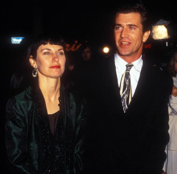 Mel Gibson and his former wife, Robyn.