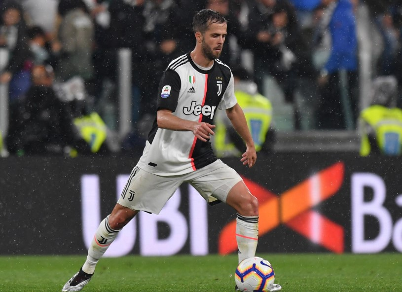 Miralem Pjanic signed a 5-year contract with Juventus in June 2016.