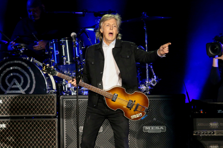 Paul McCartney in concert at Dodger Stadium, Los Angeles, USA - 13 Jul 2019