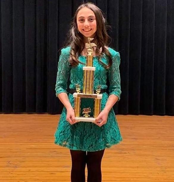 Ashley Marina won the Valley Got Talent in November 2019.