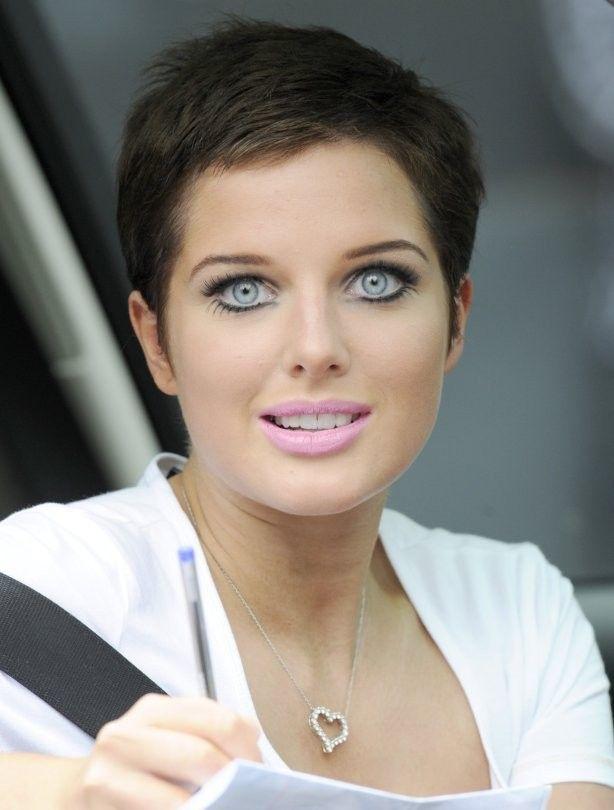 Helen Flanagan short hair