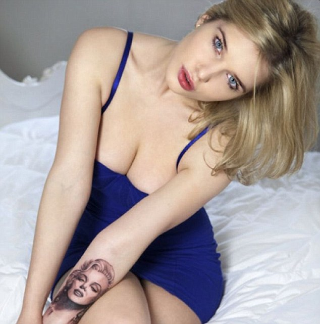 Helen Flanagan tattoos