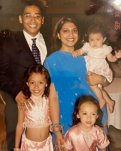 Avani Gregg Family Parents