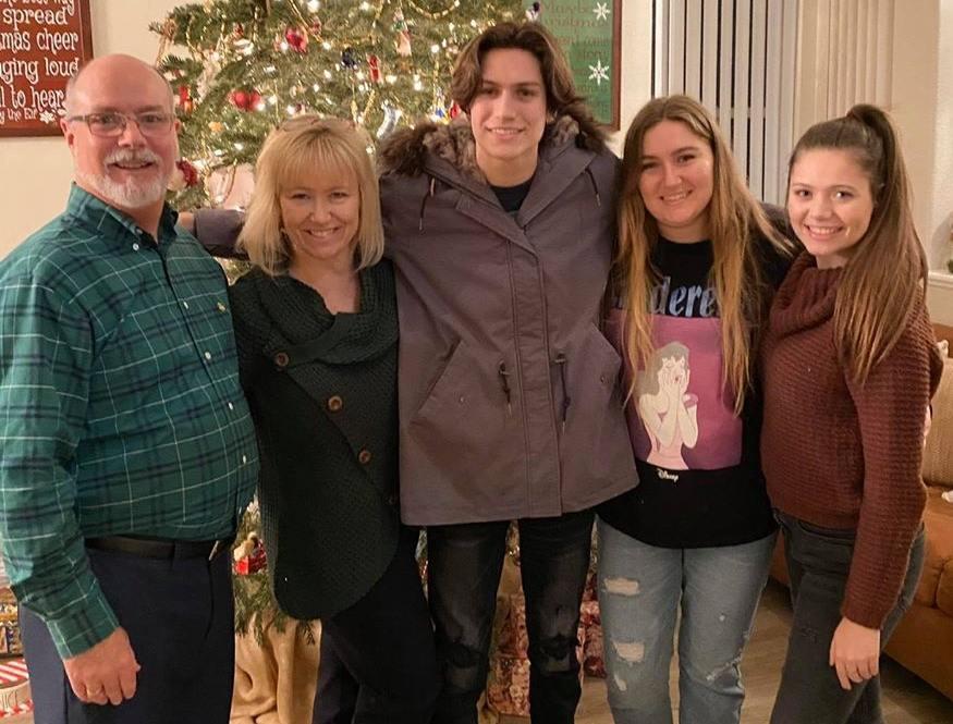 Chase Hudson Family Photo