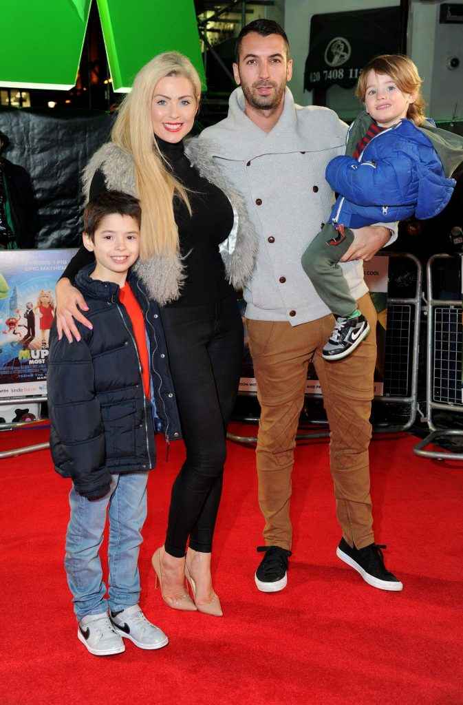 Nicola McLean Family Pic