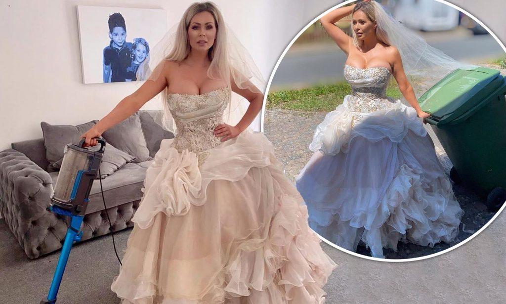 Nicola McLean Wedding Dress