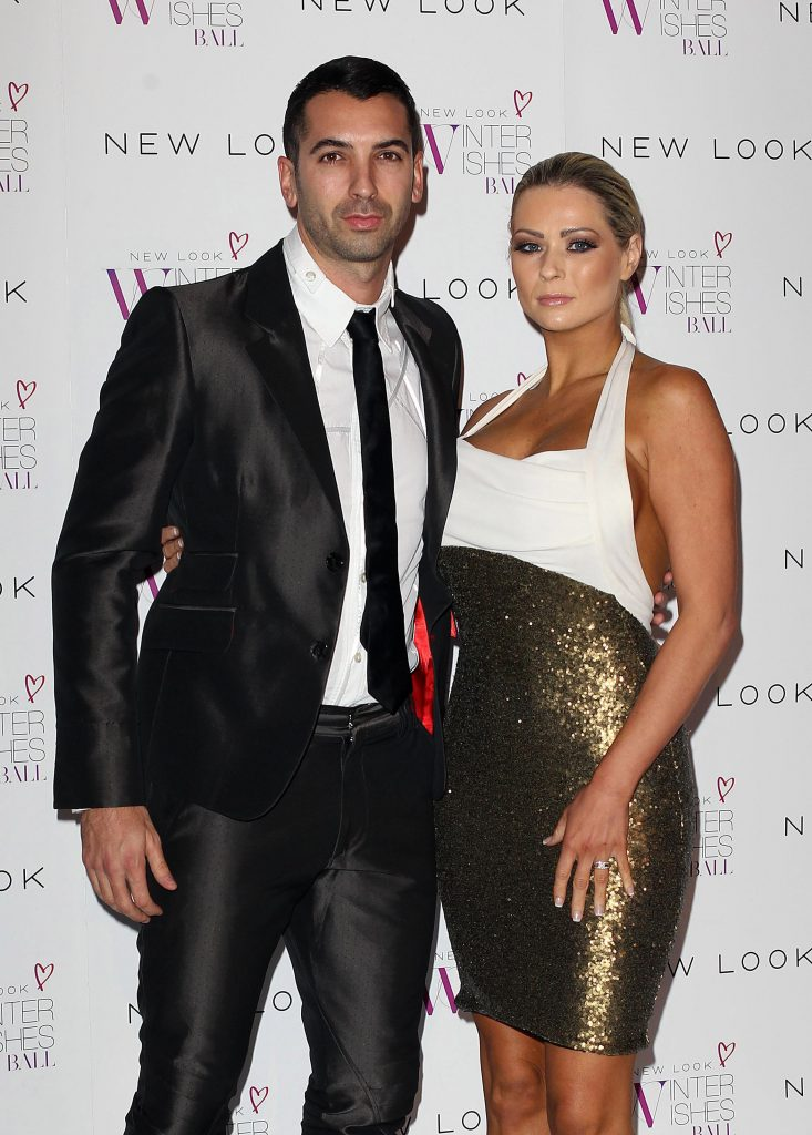 Nicola McLean and husband