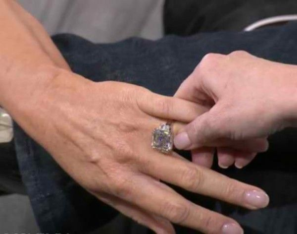 shannon tweed engagement ring