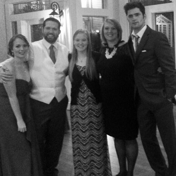 Sean O'Pry Family