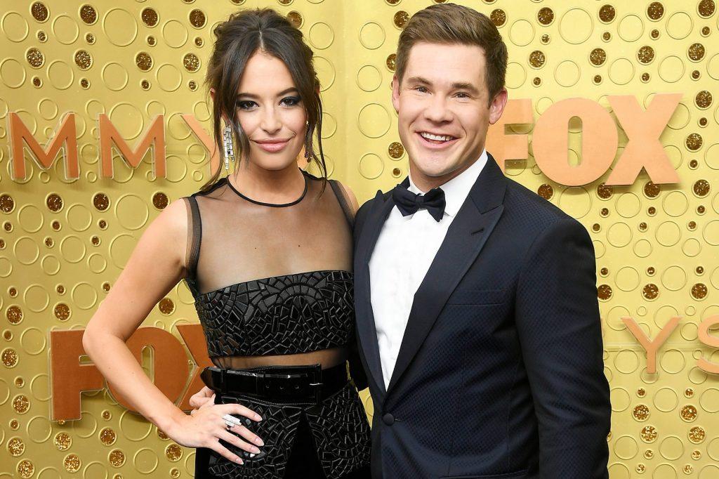 Adam DeVine and his Girlfriend